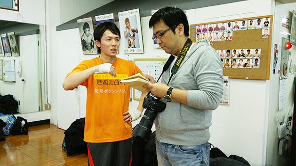 (左)矢野乃莉守選手