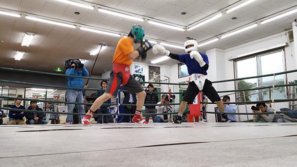 (左)矢野乃莉守選手 (右)大平剛選手