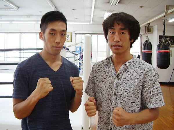 (左)柳堀隆吾、(右)来山悠一