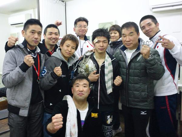 花形ボクシングジムメンバー