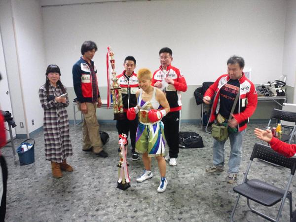 花形冴美 OPBF女子東洋太平洋チャンピオン